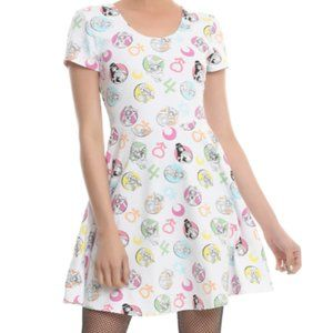 Hot Topic Sailor Moon Icons Crossback Dress